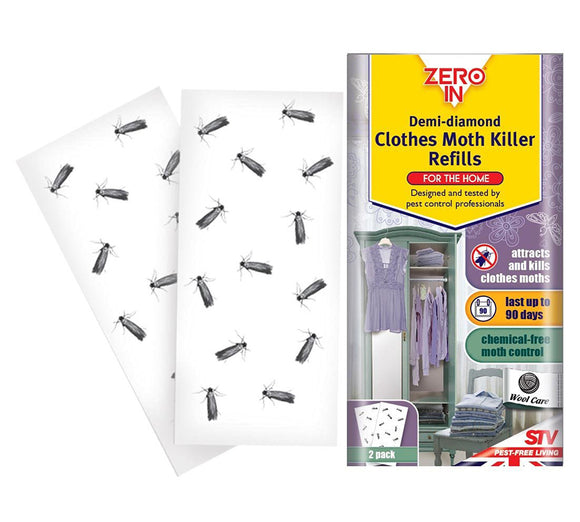 Zero-In Demi-Diamond Clothes Moth Killer Refill