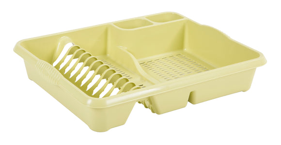 Wham Casa Large Dish Drainer Soft Lime