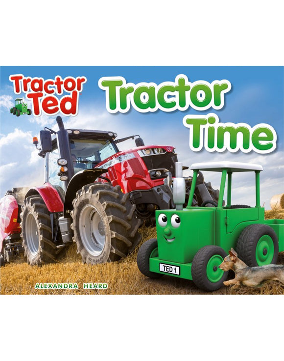 Tractor Ted Tractor Time Book