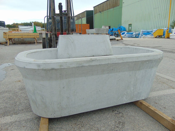 Moore Concrete Cattle Water Trough 180L 40gal