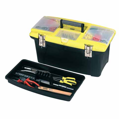 Stanley Jumbo Toolbox 22in & Tray