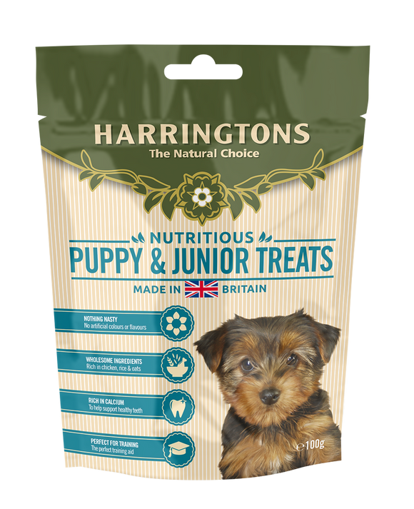 Harringtons Puppy & Junior Treats 100g