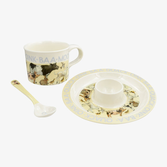 Emma Bridgewater Bright New Morning Melamine Breakfast Set