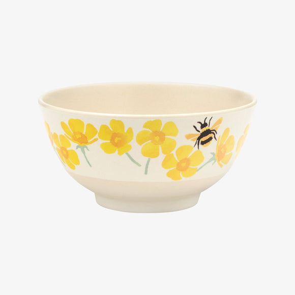 Emma Bridgewater Buttercup Scattered Bamboo Bowl