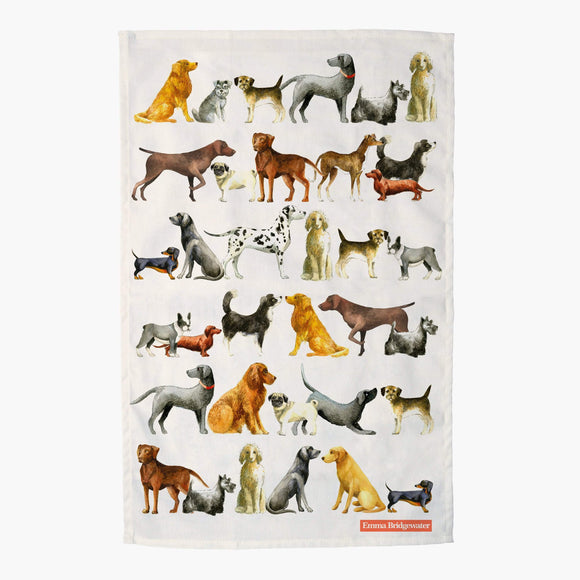 Emma Bridgewater Dogs Tea Towel