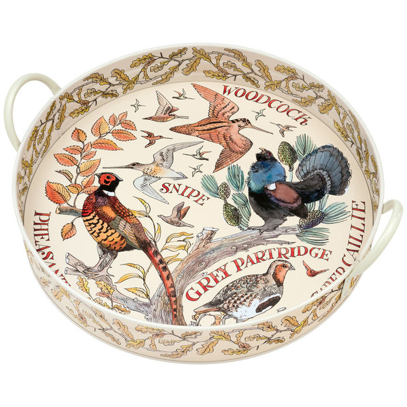 Emma Bridgewater Game Birds Large Steel Tray