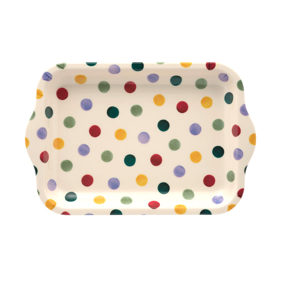 Emma Bridgewater Polka Dot Small Melamine Tray