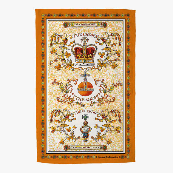 Emma Bridgewater The Crown Jewels Tea Towel