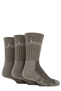 JEEP Men's Boot Socks 3-Pack 6-11