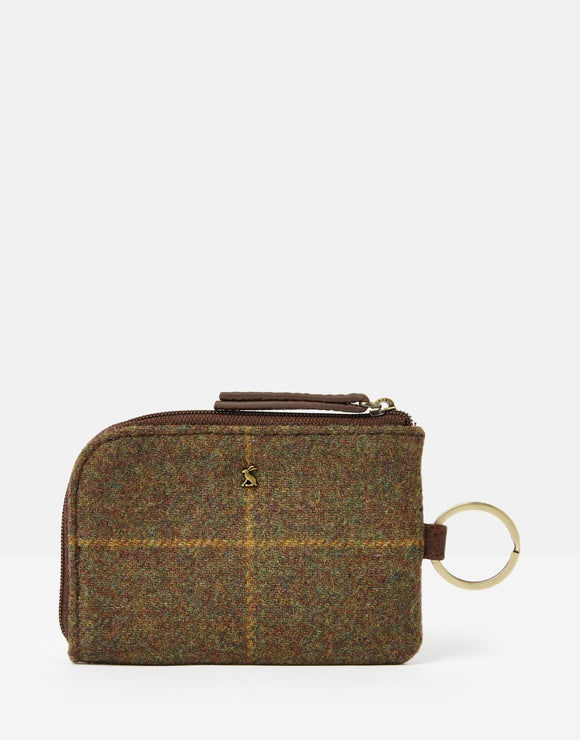 Joules Everleigh Tweed Coin Purse