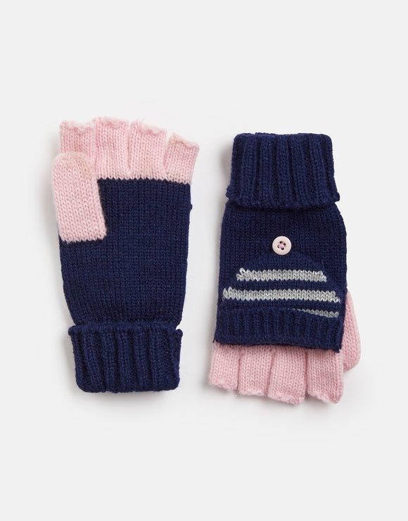 Joules Girls Ailsa Convertor Gloves