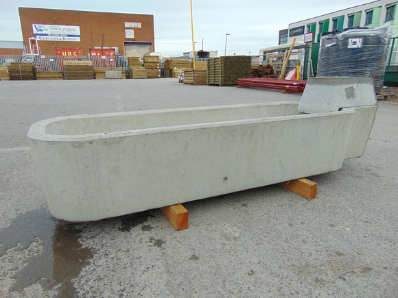 Moore Concrete Cattle Water Trough 205L 45gal