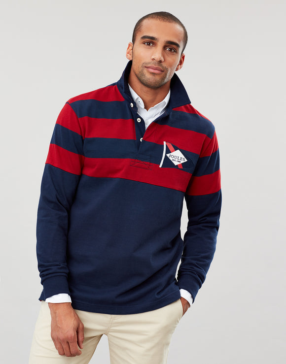 Joules Seatry Nautical Rugby Shirt