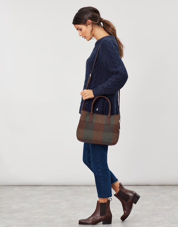 Joules Thernwell Tweed Larger Grab Bag