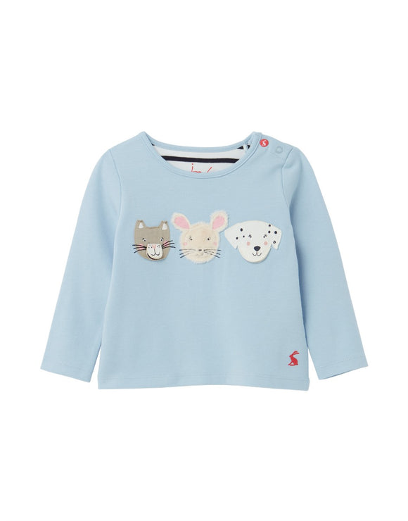 Joules Baby Chomp Jersey Applique Top