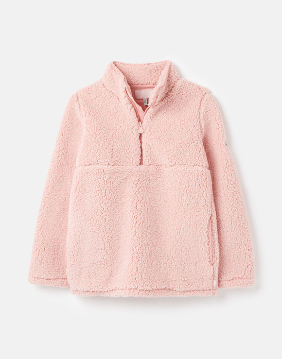 Joules Girls Poppie Teddy Fleece Pullover