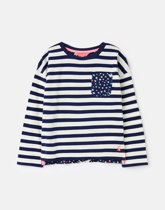 Joules Bliss Drop Shoulder Hotchpotch Top