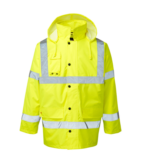 Fort Workwear Hi Vis Motorway Safety Jacket