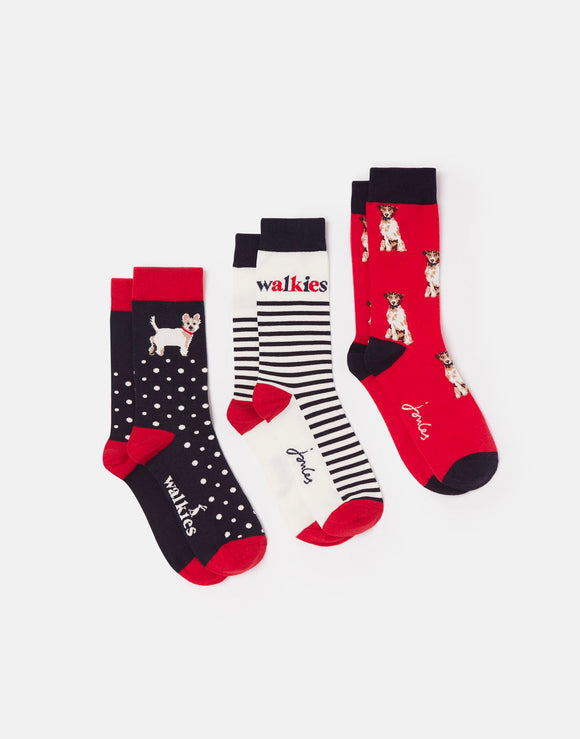 Joules Bamboo Socks 3-Pack