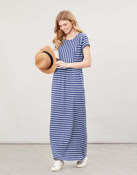Joules Trudy Short Sleeve Maxi Dress