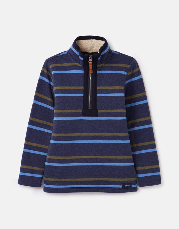 Joules Winter Dale Fleece Lined Pullover