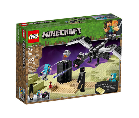Lego Minecraft The End Battle 21151