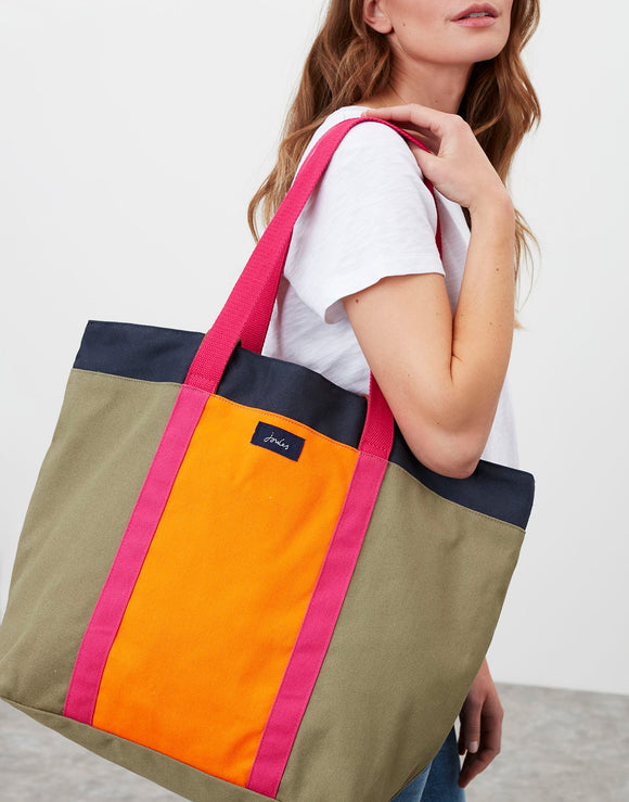 Joules Zoe Canvas Tote Bag