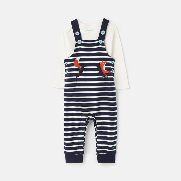 Joules Wilbur Dungaree Set