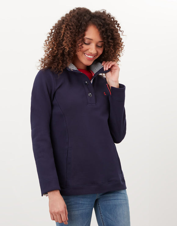 Joules Beachy Funnel Neck Sweatshirt
