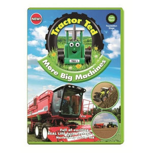 Tractor Ted Meets More Big Machines DVD