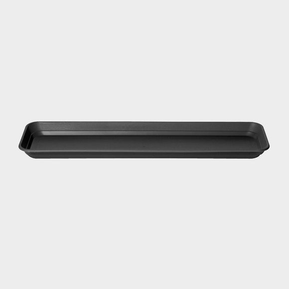 Stewart Balconniere Trough Tray Black 70cm