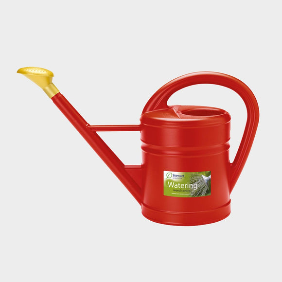 Stewart Traditional Watering Can Red 10L