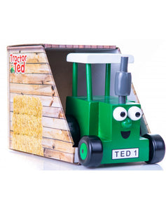 Tractor Ted Wooden Toy in Box