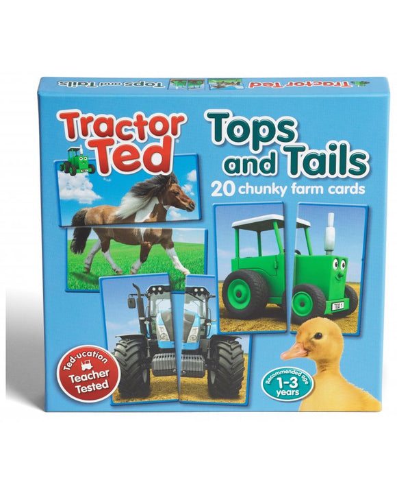 Tractor Ted Tops & Tails Game