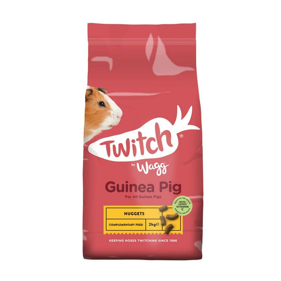 Twitch by Wagg Guinea Pig Food 2kg