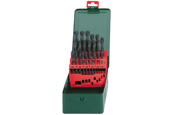 Metabo HSS-R Bit Storage Case 25 Pieces