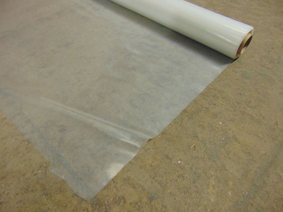 Poly Sheet Clear Heavy 2m Wide Per Roll