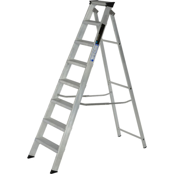 Youngman Ladder Industrial 8 Tread Aluminium