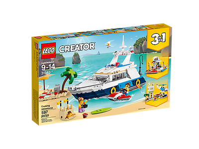 You added <b><u>Lego Creator Cruising Adventures 31083</u></b> to your cart.