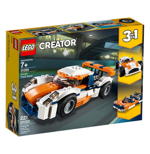 You added <b><u>Lego Creator Sunset Track Racer 31089</u></b> to your cart.