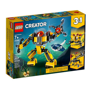 You added <b><u>Lego Creator Underwater Robot 31090</u></b> to your cart.