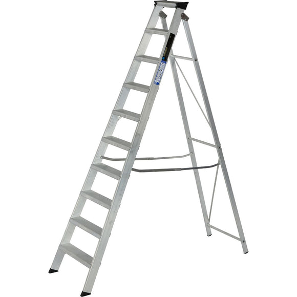 Youngman Ladder Industrial 10 Tread Aluminium