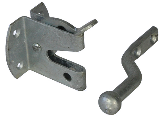 Eliza Tinsley Galvanised Auto Gate Latch Small