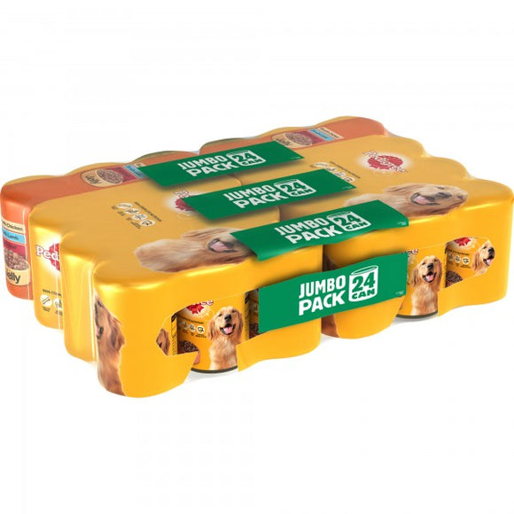 Pedigree Tins Mixed Selection in Jelly 24x385g