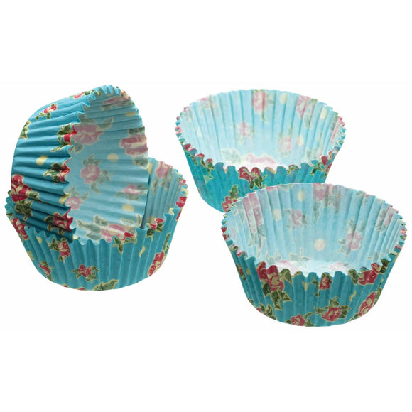 Sweetly Does It Vintage Rose Cupcake Cases x60