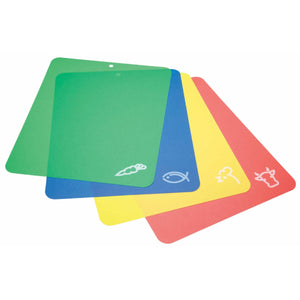 You added <b><u>KitchenCraft Flexible Colour Coded Cutting Mats</u></b> to your cart.