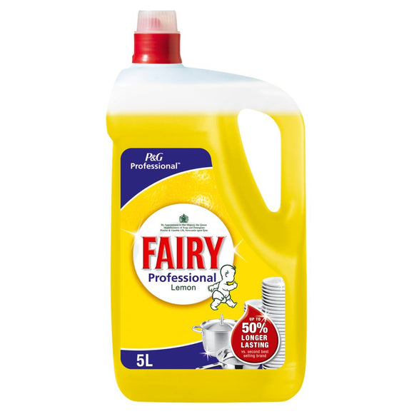 Fairy Liquid Lemon 5L