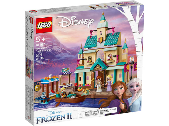 Lego Disney Frozen II Arendelle Castle Village 41167