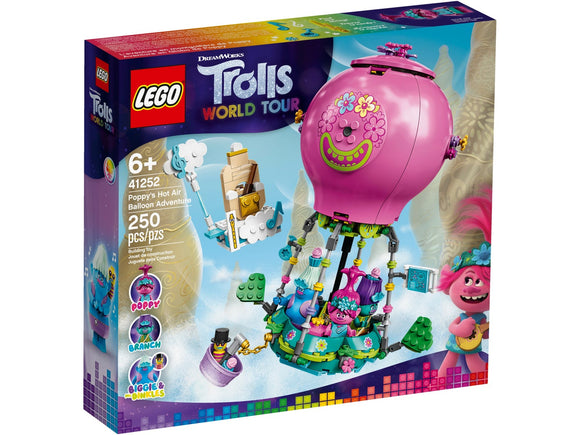 Lego Trolls Poppy's Hot Air Balloon Adventure 41252
