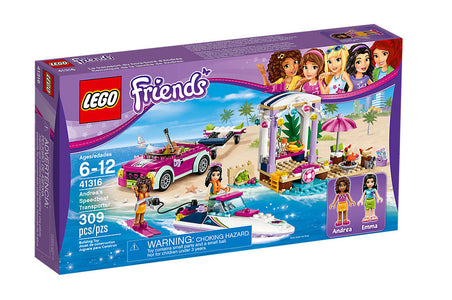 You added <b><u>Lego Friends Andrea's Speedboat Transporter 41316</u></b> to your cart.